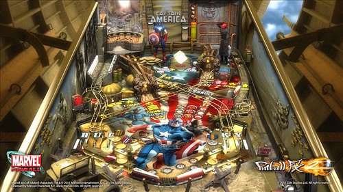 Captain America: firstscreen | by PlayStation.Blog