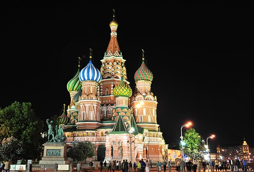 Saint Basil Cathedral, Moscow, Russia | by cowboy6688