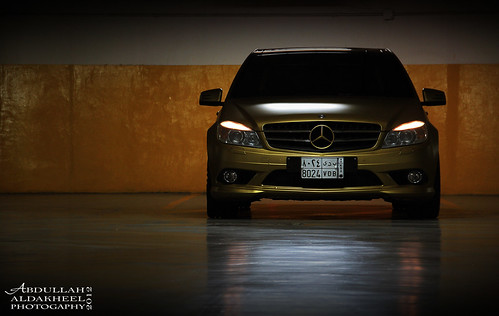 Mercedes - C63 GOLD | by Abdullah Aldakheel