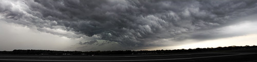 May 3rd, 2012 - Storm Over the Muskegon Airport | by gbozik photography
