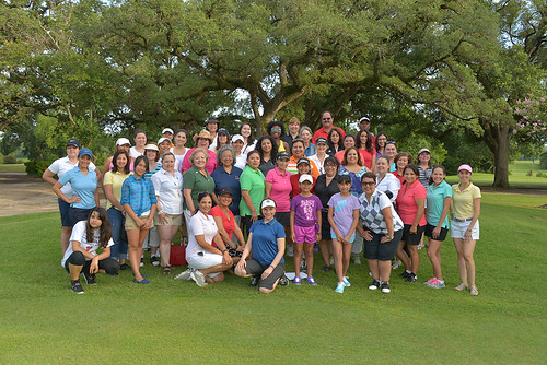 Latina Golfers Houston Golf Clinic