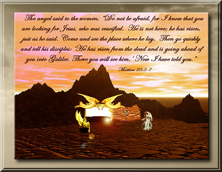 HE IS NOT HERE HE IS RISEN | by fantartsy JJ *2013 year of LOVE!*