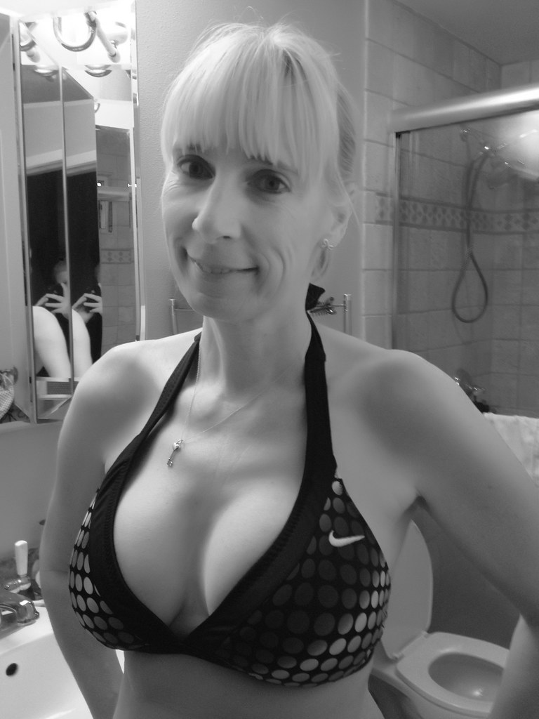 Blonde milf next door