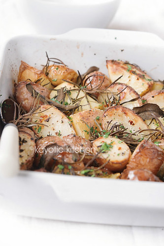 Herb Roasted Potatoes | by kayleighb