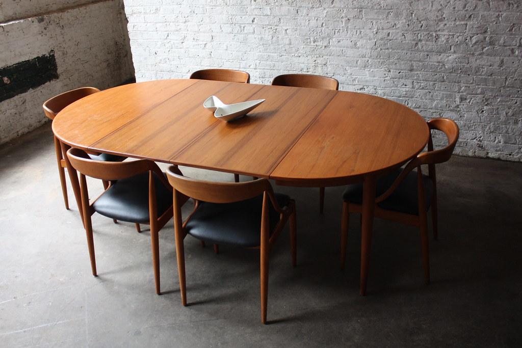breathtaking johannes andersen danish modern teak dining t flickr