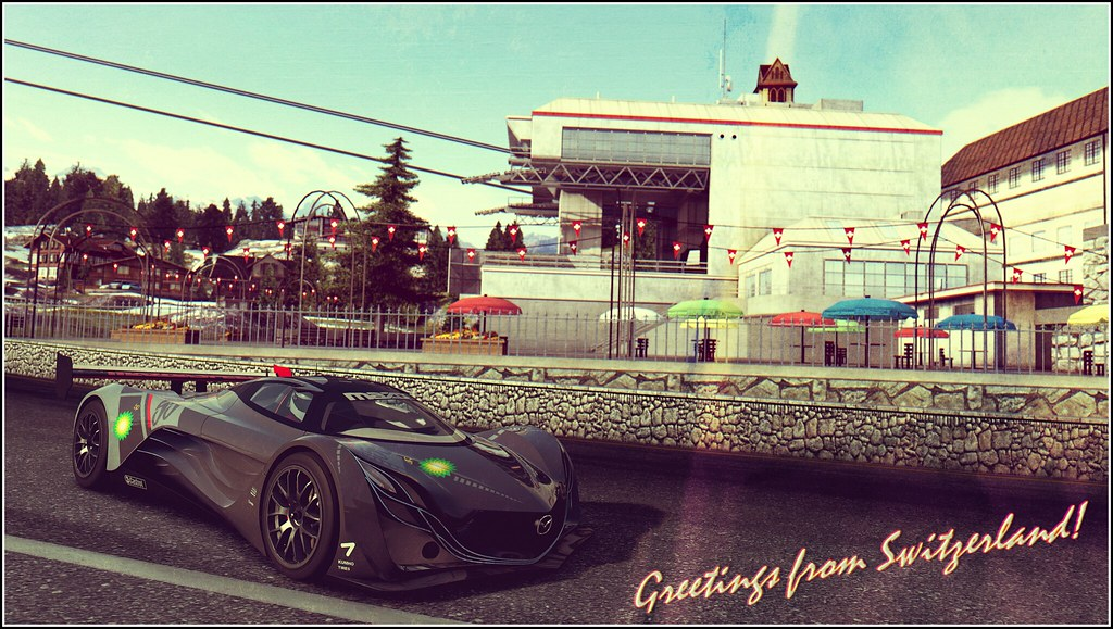 Greetings from switzerland postcard edition forza motor flickr polyneutron greetings from switzerland postcard edition by polyneutron m4hsunfo