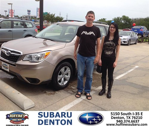 Congratulations To Robert Newberry On Your Subaru Forest