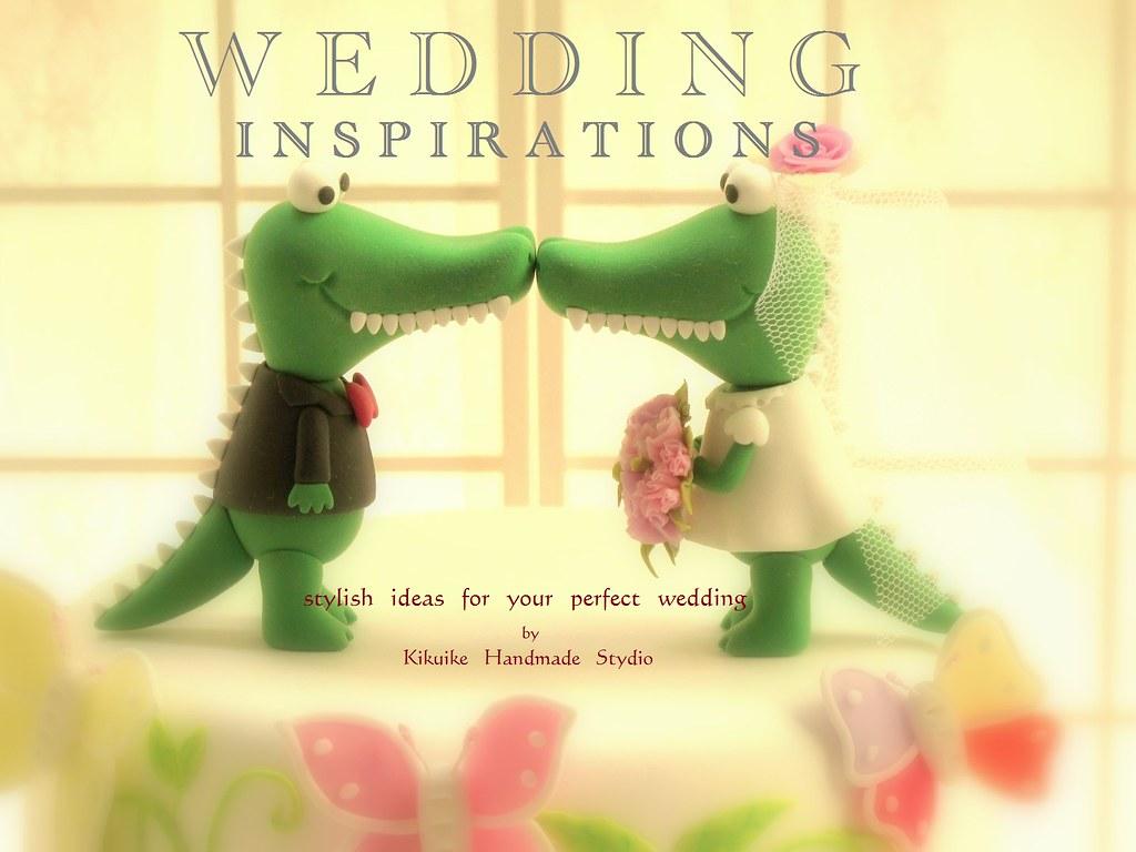 Wedding Cake Topper-love alligator,crocodile | This listing … | Flickr