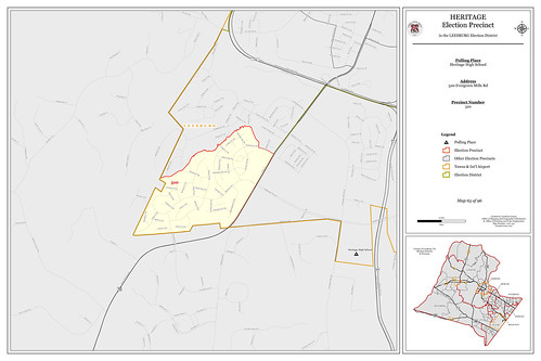 Precinct 510 - Heritage | by Office of Mapping, County of Loudoun