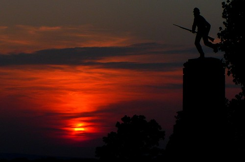 Gettysburg at Sunset (2) | by abc3340weather