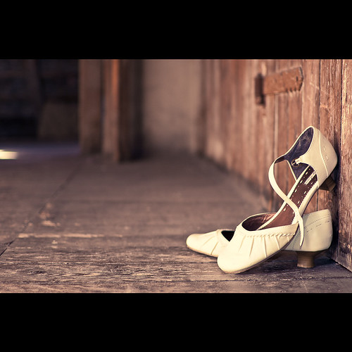 A Bride's Shoes | by mbecher