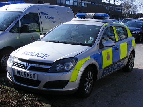 1498 - GMP - Greater Manchester Police - Vauxhall Astra - VU05 WSD | by Call the Cops 999