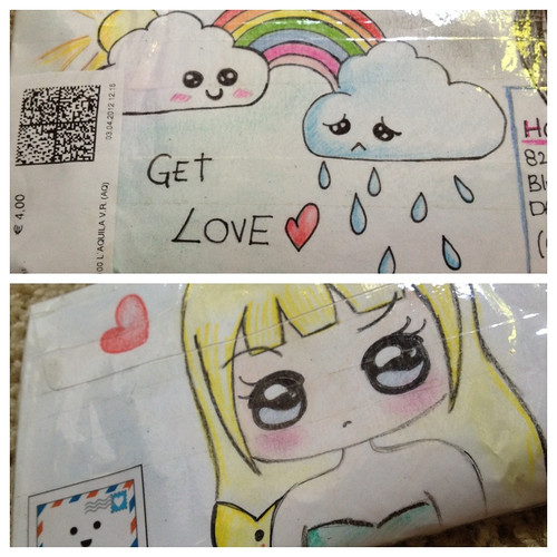 Kawaii Mail Art Received from GingillyTown | by thehollycopter