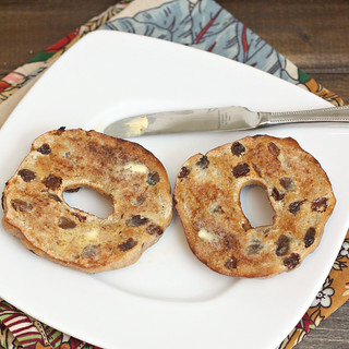Cinnamon Raisin Bagels | by Tracey's Culinary Adventures