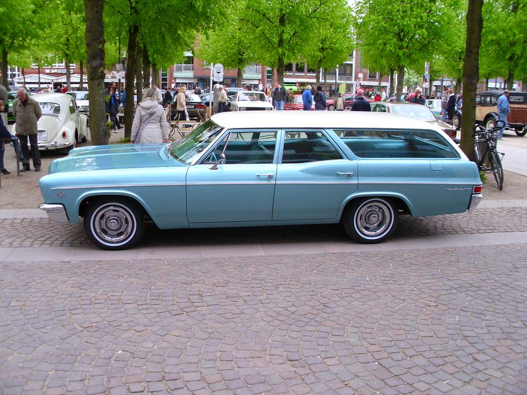 Chevrolet Bel Air Wagon 327 1966 Ahrensburg 2012 Hog Troglodyte By Zappadong