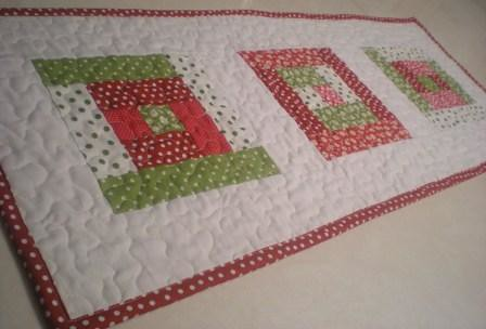 another Christmas table runner | by Erin @ Why Not Sew? Quilts