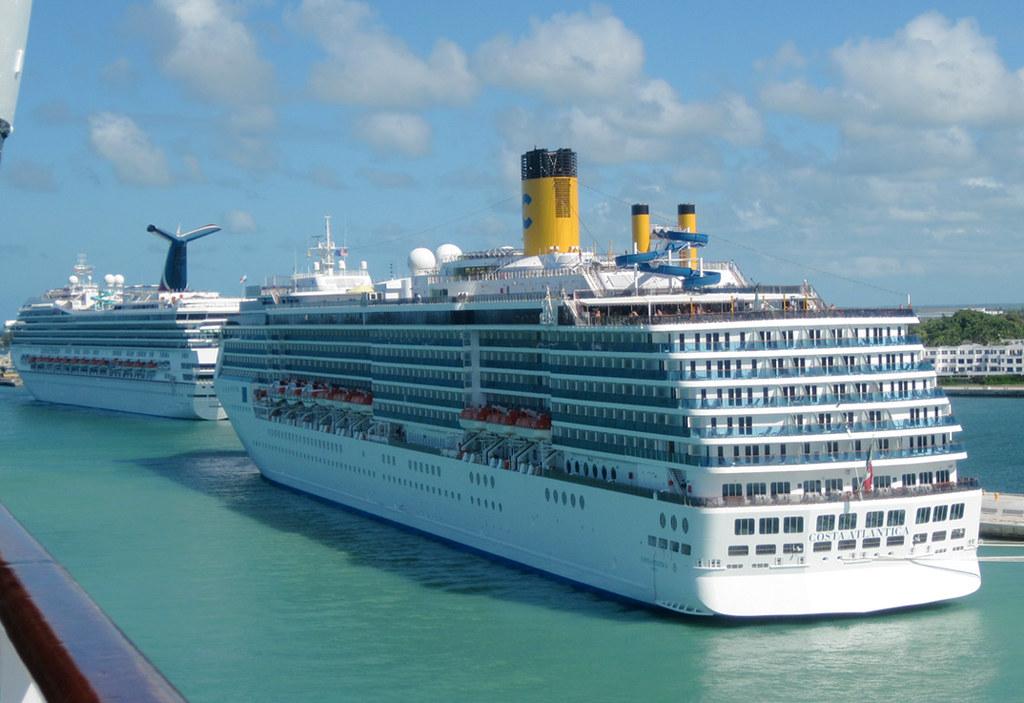 Key West Cruise Ships Two Large Cruise Ships Were In Key Flickr - Cruise ship key west