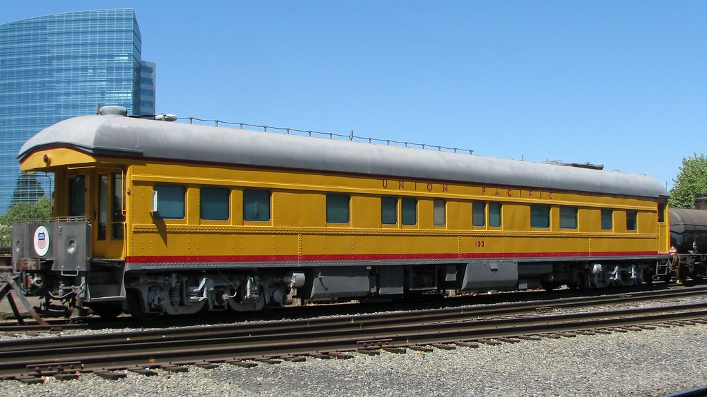 Union Pacific No 103 American Car Foundry Business Car Flickr