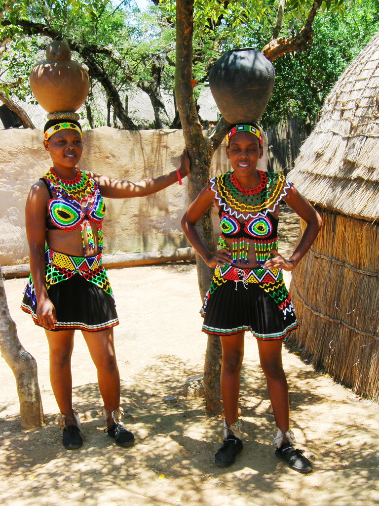 image galleries Zulu girl