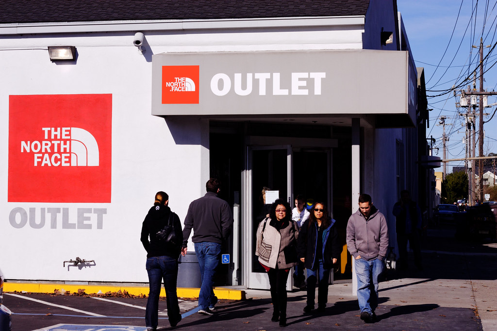 outlet north face