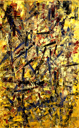 Riopelle jean paul 1923 2002 1955 painting peggy gug for Garde meuble montreal