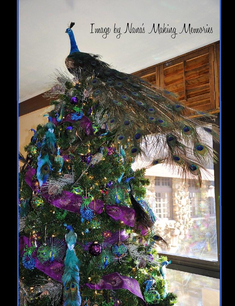 peacock christmas tree grove park inn by nanas making memories - Peacock Christmas Tree