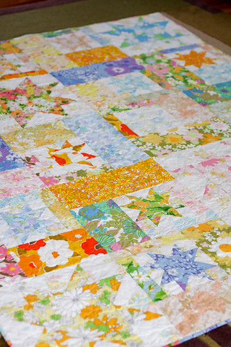 Vintage Sheet Quilt | by Jeni Baker | In Color Order