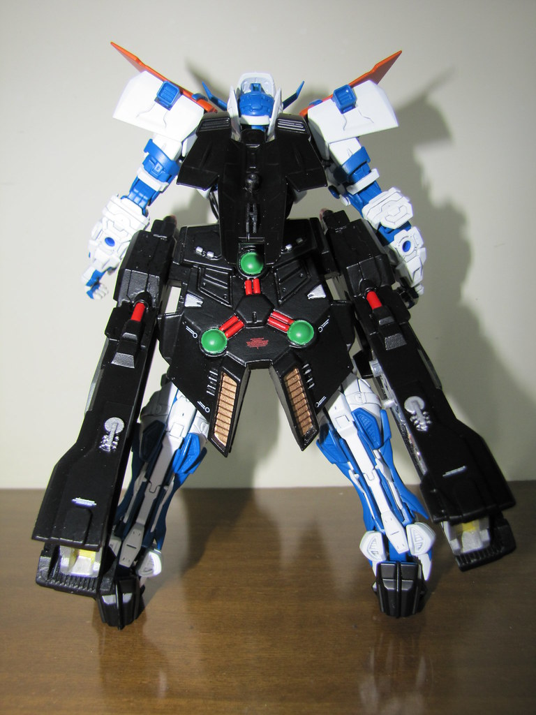 Gundam Astray Blue Frame Mg Second Revise Lohengrin Laun Flickr Launcher By Rozzindisguise