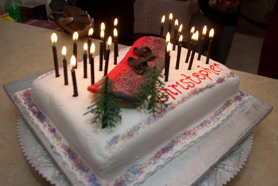 28th Birthday Cake Christopher Faria Flickr