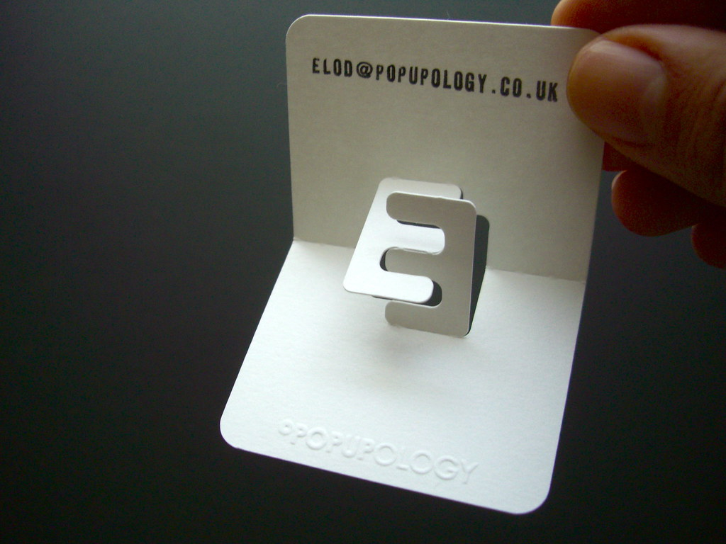 New 3 d business card series vi letters e meets b my i flickr new 3 d business card series vi letters by elod beregszaszi magicingreecefo Gallery