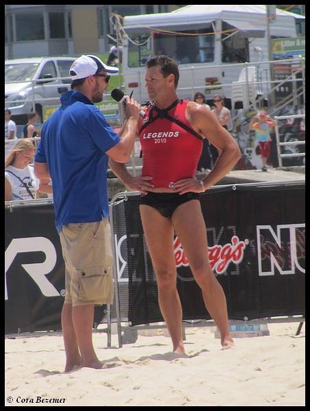 Head lifeguard Bruce Hopkins Hoppo Bondi Beach – Head Lifeguard