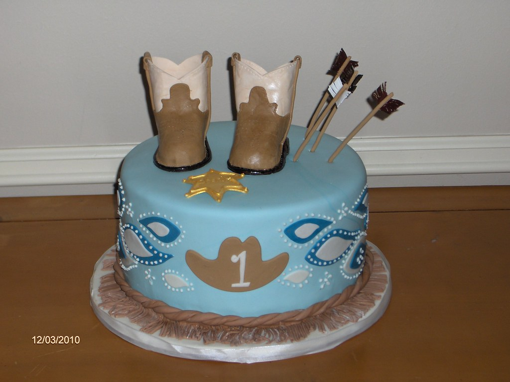 Cowboy And Indian Cake Carmon Middleton Flickr