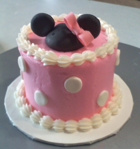 Baby Minnie Mouse Cake Pan