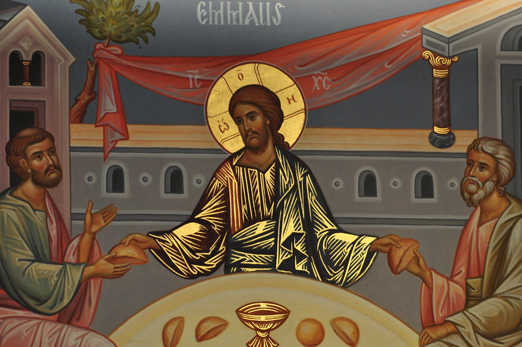 Image result for jesus breaks bread