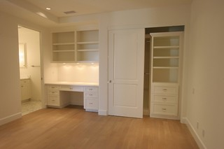 Vanity, Desk and Closet | by rubottomcabinets