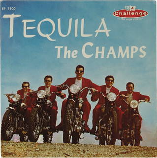 "Champs ""Tequila"" EP Challenge 7100 (1958) front 