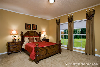 Colony Bay - Master Bedroom | by www.ClaytonHomes.com