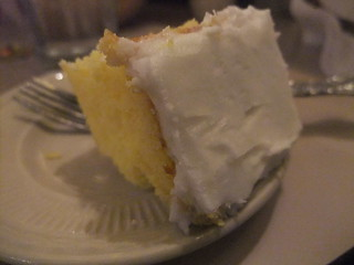 Yellow Cake at TAT Ristorante | by swampkitty