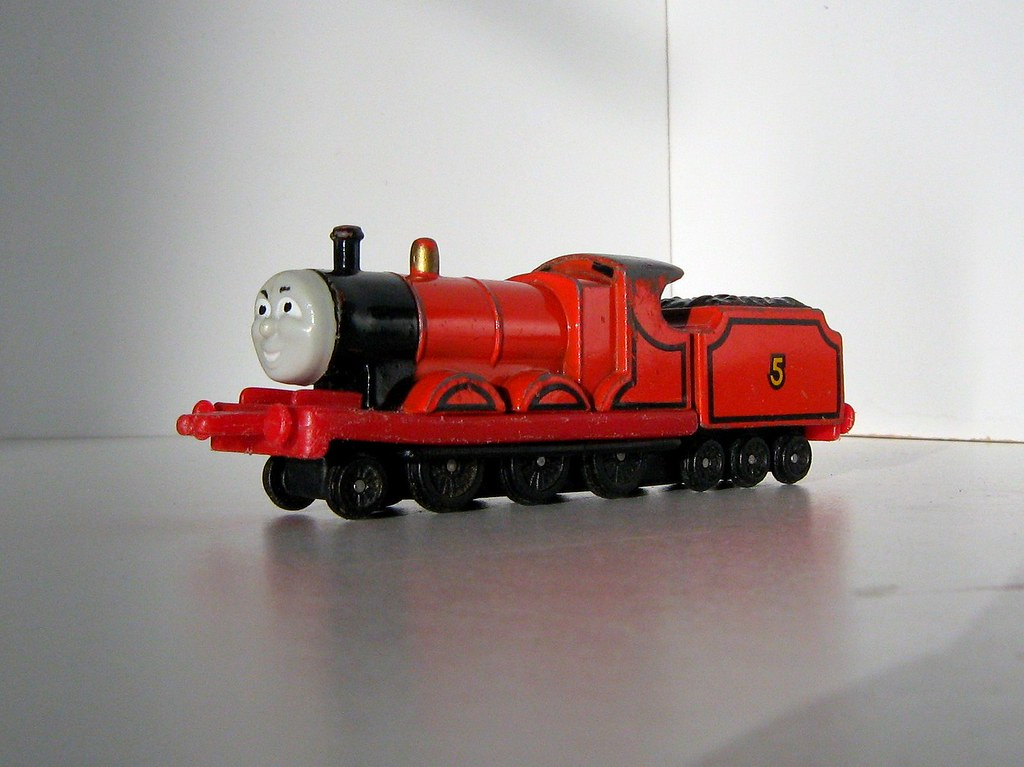 Thomas The Tank Engine And Friends James Mixed Traffic
