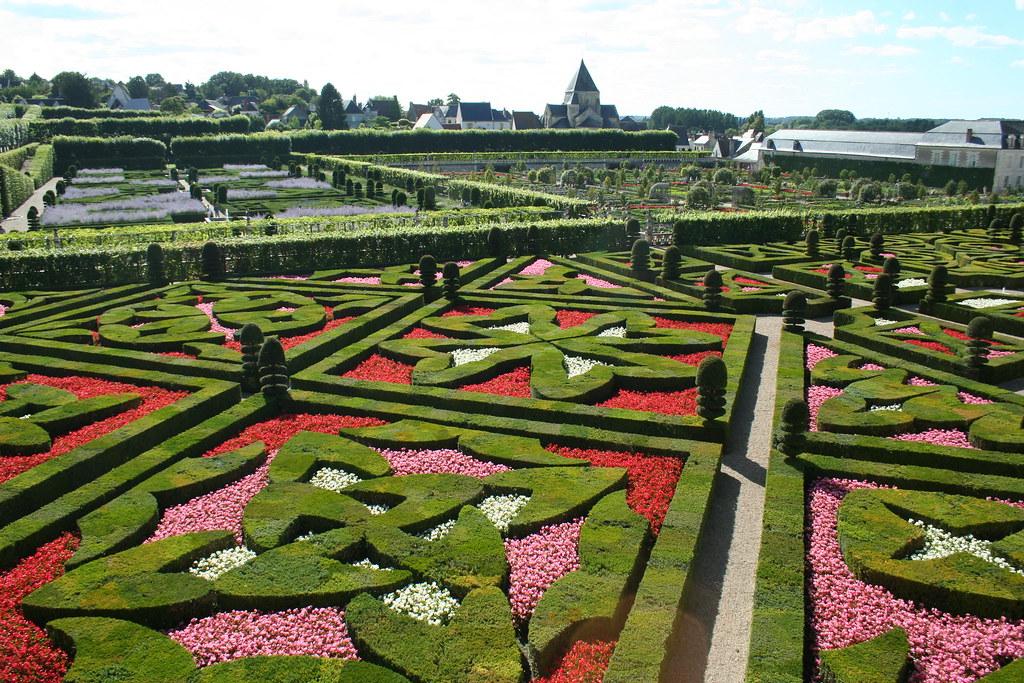 Jardin Francais - French gardens, in Villandry | A great exa… | Flickr