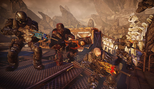 BulletStorm for PS3: Anarchy | by PlayStation.Blog