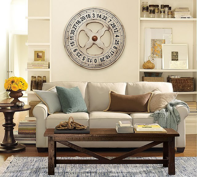 Coffee Table Pottery Barn Rustic Bench Leran How To Make Flickr