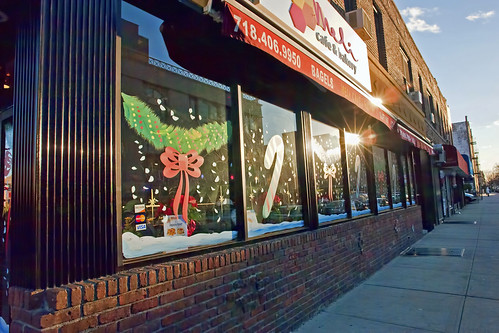 Meli Cafe Christmas Windows | by Harris Graber