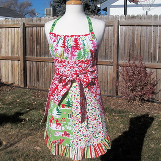 Christmas Apron 2 | by Sewing Geek
