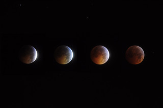 Lunar Eclipse Solstice 2010 (composite) | by Zeroneg1