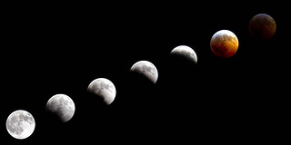 Total lunar eclipse | by The National Guard