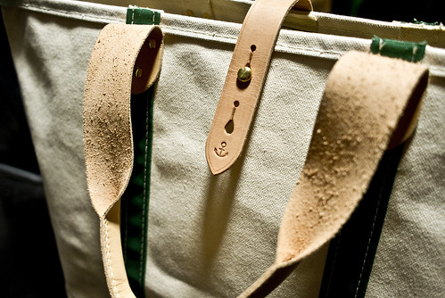 custom made LL Bean Boat and Tote | by lazytuba