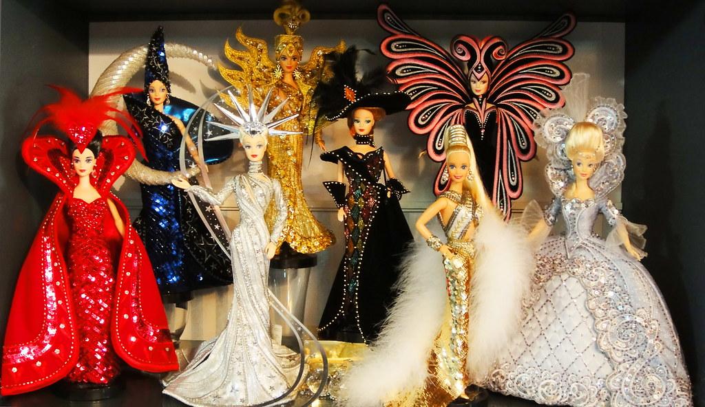Bob Mackie Collection Bob Mackie Barbie Dolls Are Always S Flickr