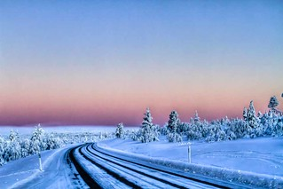Road to sunset | by teemu hanninen