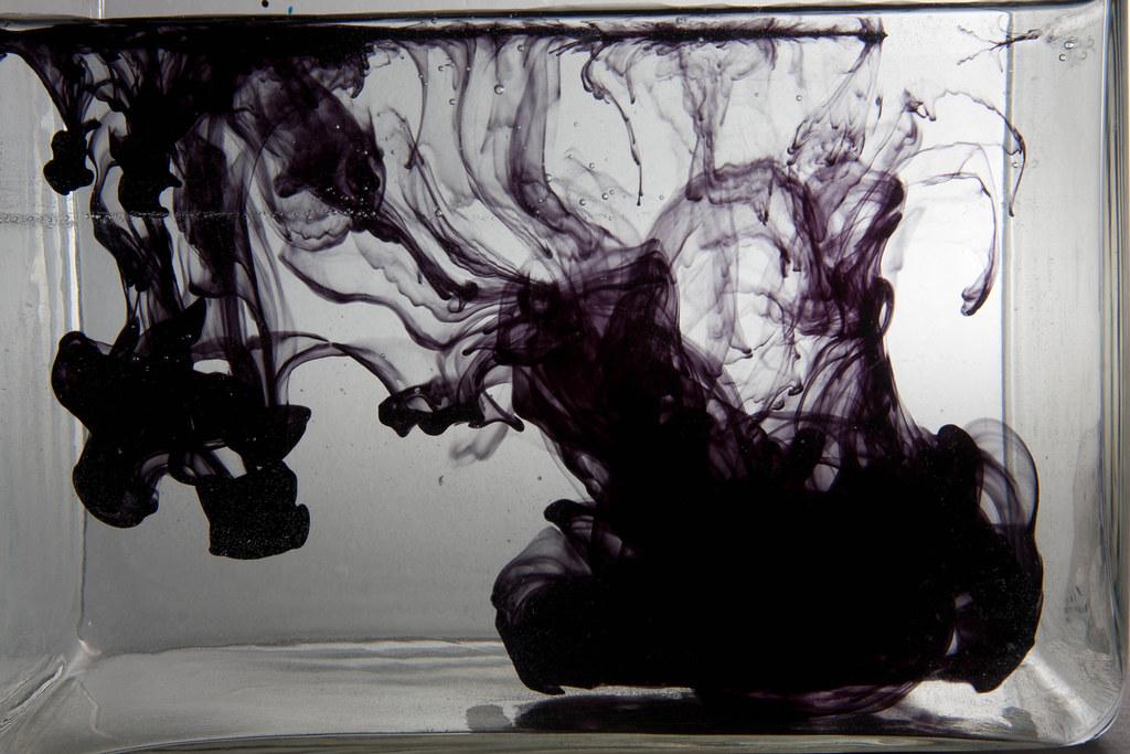 Black food colouring in water as shot   www.richardberryphot…   Flickr
